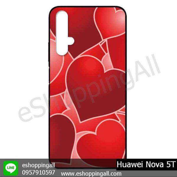 MHW-017A109 Huawei Nova 5T เคสมือถือหัวเหว่ยแบบยางนิ่มพิมพ์ลาย