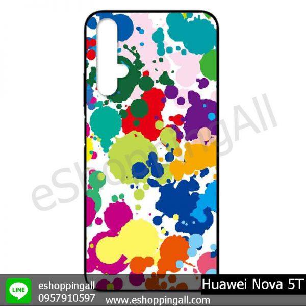 MHW-017A114 Huawei Nova 5T เคสมือถือหัวเหว่ยแบบยางนิ่มพิมพ์ลาย