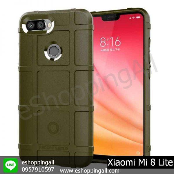 MXI-008A303 Xiaomi Mi8 Lite เคสมือถือเสี่ยวมี่แบบยางกันกระแทก