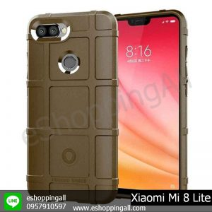 MXI-008A304 Xiaomi Mi8 Lite เคสมือถือเสี่ยวมี่แบบยางกันกระแทก