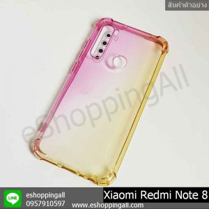MXI-010A202 Xaomi Redmi Note 8 เคสมือถือเสี่ยวมี่แบบยางนิ่ม สีพาสเทล