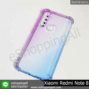 MXI-010A203 Xaomi Redmi Note 8 เคสมือถือเสี่ยวมี่แบบยางนิ่ม สีพาสเทล