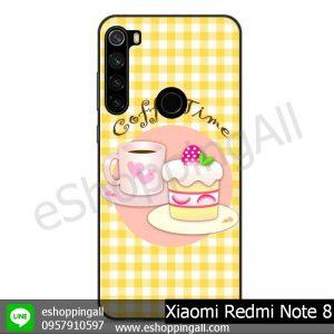 MXI-010A112 Xaomi Redmi Note 8 เคสมือถือเสี่ยวมี่ขอบยางพิมพ์ลายเคลือบใส