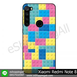 MXI-010A113 Xaomi Redmi Note 8 เคสมือถือเสี่ยวมี่ขอบยางพิมพ์ลายเคลือบใส