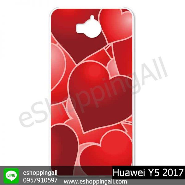 MHW-019A112 Huawei Y5 2017 เคสมือถือหัวเหว่ยแบบแข็งพิมพ์ลาย