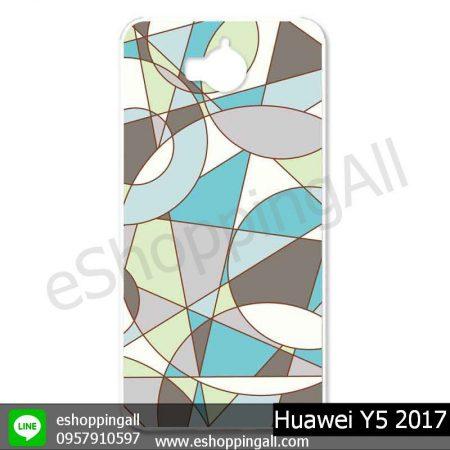 MHW-019A114 Huawei Y5 2017 เคสมือถือหัวเหว่ยแบบแข็งพิมพ์ลาย