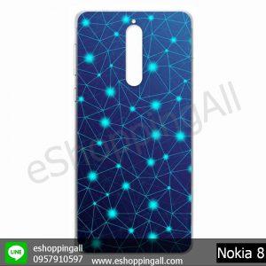 MNK-001A103 Nokia 8 เคสมือถือโนเกียแบบแข็งพิมพ์ลาย