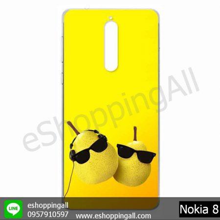 MNK-001A105 Nokia 8 เคสมือถือโนเกียแบบแข็งพิมพ์ลาย
