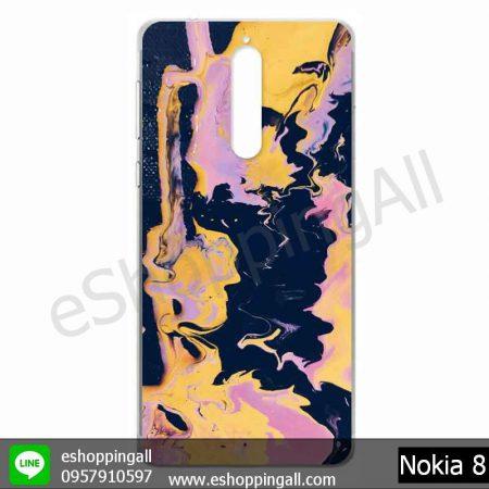 MNK-001A108 Nokia 8 เคสมือถือโนเกียแบบแข็งพิมพ์ลาย
