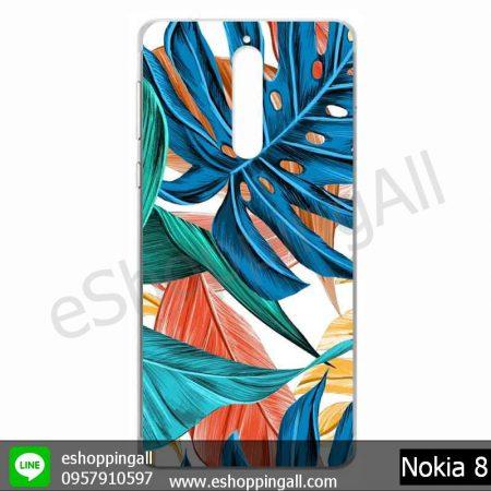 MNK-001A109 Nokia 8 เคสมือถือโนเกียแบบแข็งพิมพ์ลาย