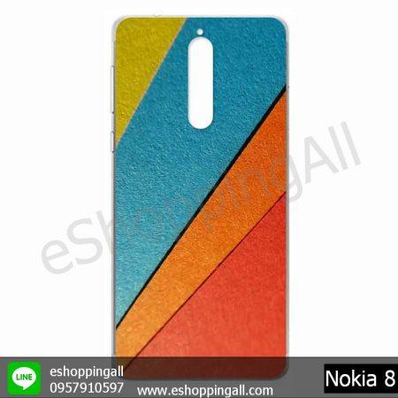 MNK-001A110 Nokia 8 เคสมือถือโนเกียแบบแข็งพิมพ์ลาย