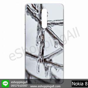 MNK-001A112 Nokia 8 เคสมือถือโนเกียแบบแข็งพิมพ์ลาย