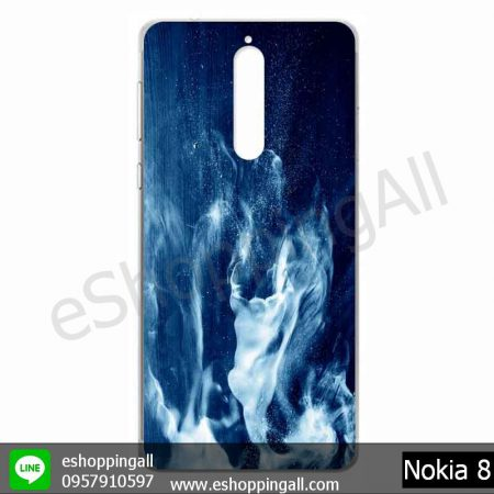 MNK-001A113 Nokia 8 เคสมือถือโนเกียแบบแข็งพิมพ์ลาย