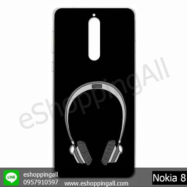 MNK-001A114 Nokia 8 เคสมือถือโนเกียแบบแข็งพิมพ์ลาย
