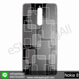 MNK-001A115 Nokia 8 เคสมือถือโนเกียแบบแข็งพิมพ์ลาย