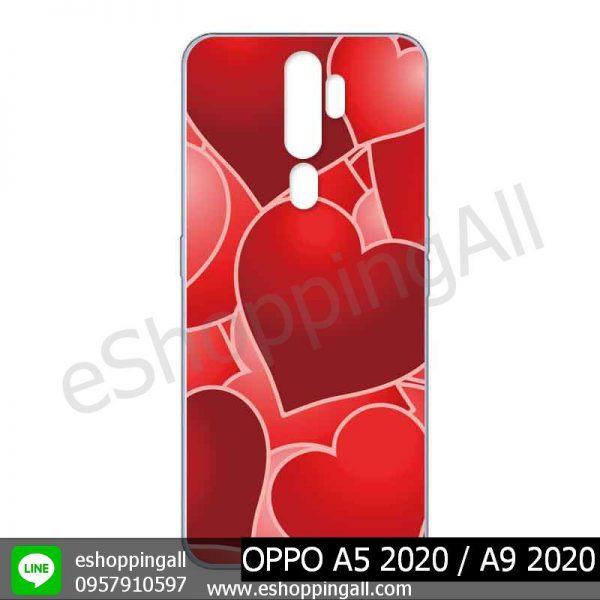MOP-010A104 OPPO A5 2020 / A9 2020 เคสมือถือออปโป้แบบแข็งพิมพ์ลาย