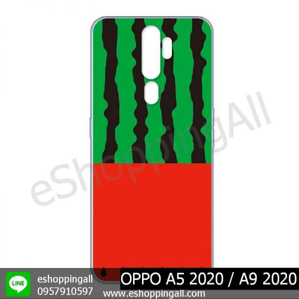 MOP-010A105 OPPO A5 2020 / A9 2020 เคสมือถือออปโป้แบบแข็งพิมพ์ลาย