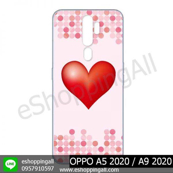 MOP-010A107 OPPO A5 2020 / A9 2020 เคสมือถือออปโป้แบบแข็งพิมพ์ลาย