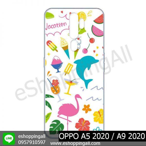 MOP-010A113 OPPO A5 2020 / A9 2020 เคสมือถือออปโป้แบบแข็งพิมพ์ลาย