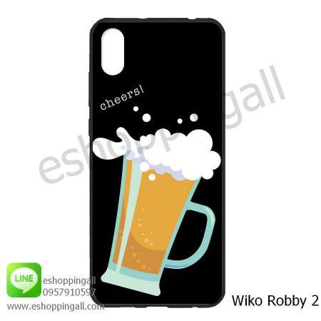 MWI-008A118 Wiko Robby 2 เคสมือถือวีโก้แบบยางนิ่มพิมพ์ลาย