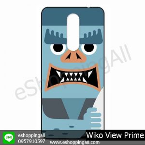 MWI-009A102 Wiko View Prime เคสมือถือวีโก้แบบยางนิ่มพิมพ์ลาย