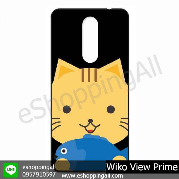 MWI-009A105 Wiko View Prime เคสมือถือวีโก้แบบยางนิ่มพิมพ์ลาย