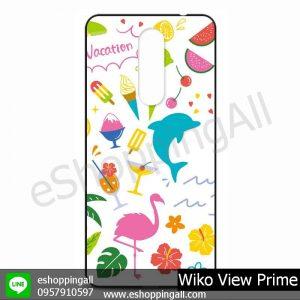 MWI-009A115 Wiko View Prime เคสมือถือวีโก้แบบยางนิ่มพิมพ์ลาย