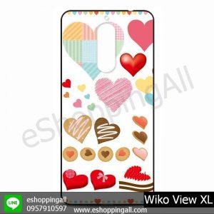 MWI-010A105 Wiko View XL เคสมือถือวีโก้แบบยางนิ่มพิมพ์ลาย