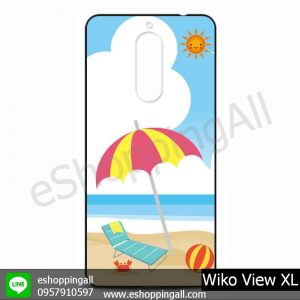 MWI-010A107 Wiko View XL เคสมือถือวีโก้แบบยางนิ่มพิมพ์ลาย