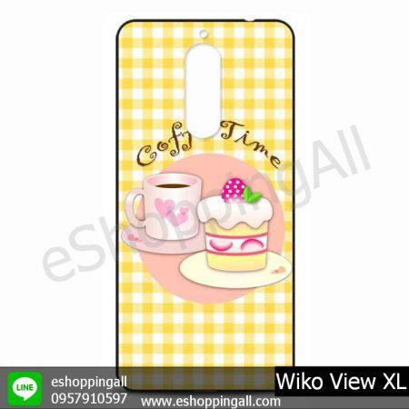 MWI-010A108 Wiko View XL เคสมือถือวีโก้แบบยางนิ่มพิมพ์ลาย