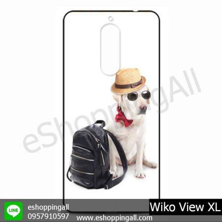 MWI-010A109 Wiko View XL เคสมือถือวีโก้แบบยางนิ่มพิมพ์ลาย