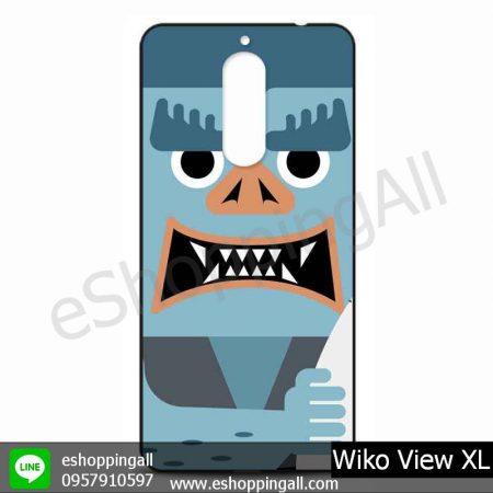 MWI-010A111 Wiko View XL เคสมือถือวีโก้แบบยางนิ่มพิมพ์ลาย