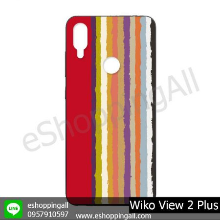 MWI-011A111 Wiko View 2 Plus เคสมือถือวีโก้แบบยางนิ่มพิมพ์ลาย