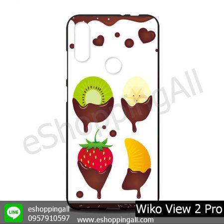 MWI-012A109 Wiko View 2 Pro เคสมือถือวีโก้แบบยางนิ่มพิมพ์ลาย