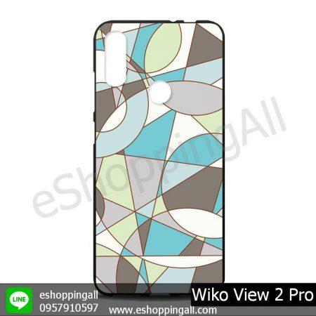 MWI-012A110 Wiko View 2 Pro เคสมือถือวีโก้แบบยางนิ่มพิมพ์ลาย