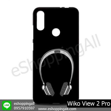 MWI-012A113 Wiko View 2 Pro เคสมือถือวีโก้แบบยางนิ่มพิมพ์ลาย