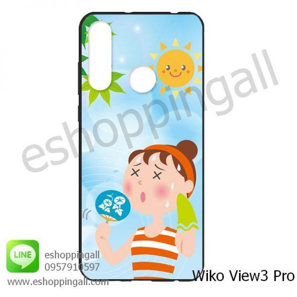 MWI-014A112 Wiko View 3 Pro เคสมือถือวีโก้แบบยางนิ่มพิมพ์ลาย