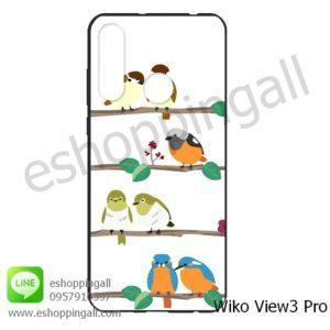 MWI-014A119 Wiko View 3 Pro เคสมือถือวีโก้แบบยางนิ่มพิมพ์ลาย