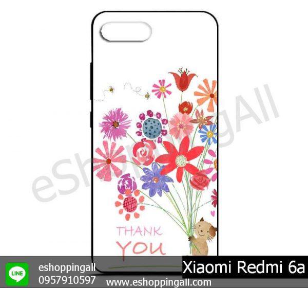 MXI-012A101 Xiaomi Redmi 6a เคสมือถือเสี่ยวมี่ยางนิ่มพิมพ์ลาย