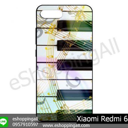 MXI-012A105 Xiaomi Redmi 6a เคสมือถือเสี่ยวมี่ยางนิ่มพิมพ์ลาย