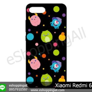 MXI-012A107 Xiaomi Redmi 6a เคสมือถือเสี่ยวมี่ยางนิ่มพิมพ์ลาย