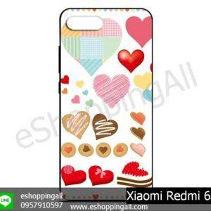 MXI-012A109 Xiaomi Redmi 6a เคสมือถือเสี่ยวมี่ยางนิ่มพิมพ์ลาย