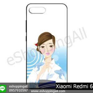 MXI-012A111 Xiaomi Redmi 6a เคสมือถือเสี่ยวมี่ยางนิ่มพิมพ์ลาย