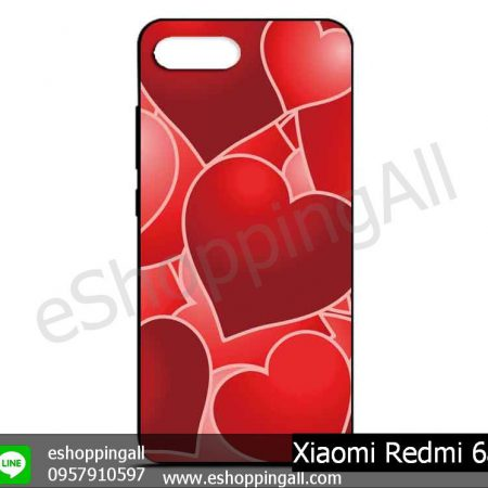 MXI-012A113 Xiaomi Redmi 6a เคสมือถือเสี่ยวมี่ยางนิ่มพิมพ์ลาย