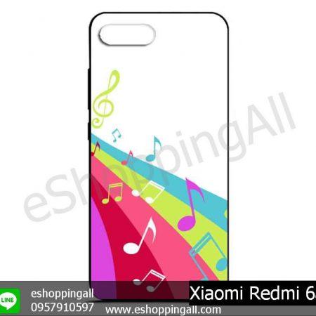 MXI-012A114 Xiaomi Redmi 6a เคสมือถือเสี่ยวมี่ยางนิ่มพิมพ์ลาย