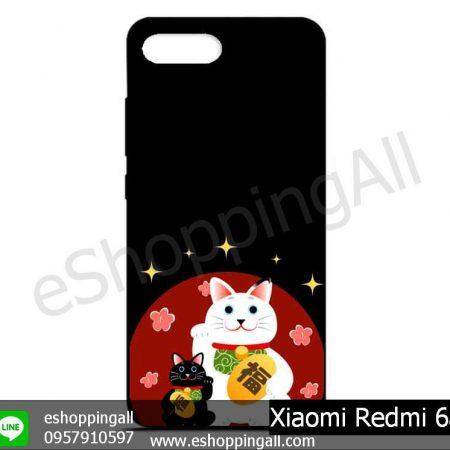 MXI-012A115 Xiaomi Redmi 6a เคสมือถือเสี่ยวมี่ยางนิ่มพิมพ์ลาย