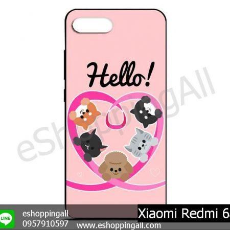 MXI-012A116 Xiaomi Redmi 6a เคสมือถือเสี่ยวมี่ยางนิ่มพิมพ์ลาย