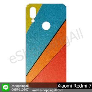 MXI-013A104 Xiaomi Redmi 7 เคสมือถือเสี่ยวมี่แบบแข็งพิมพ์ลาย