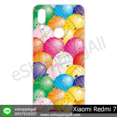 MXI-013A106 Xiaomi Redmi 7 เคสมือถือเสี่ยวมี่แบบแข็งพิมพ์ลาย