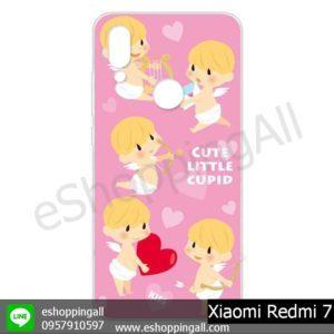 MXI-013A111 Xiaomi Redmi 7 เคสมือถือเสี่ยวมี่แบบแข็งพิมพ์ลาย